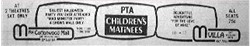 Ad for PTA children's matinees at Cottonwood Mall and the Villa.